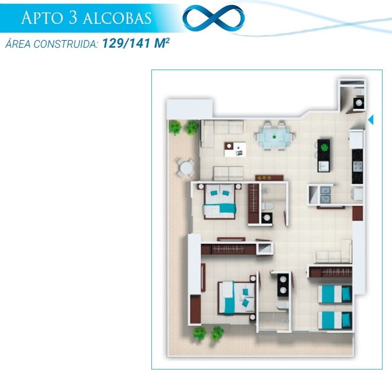 Apartamento Tipo 4