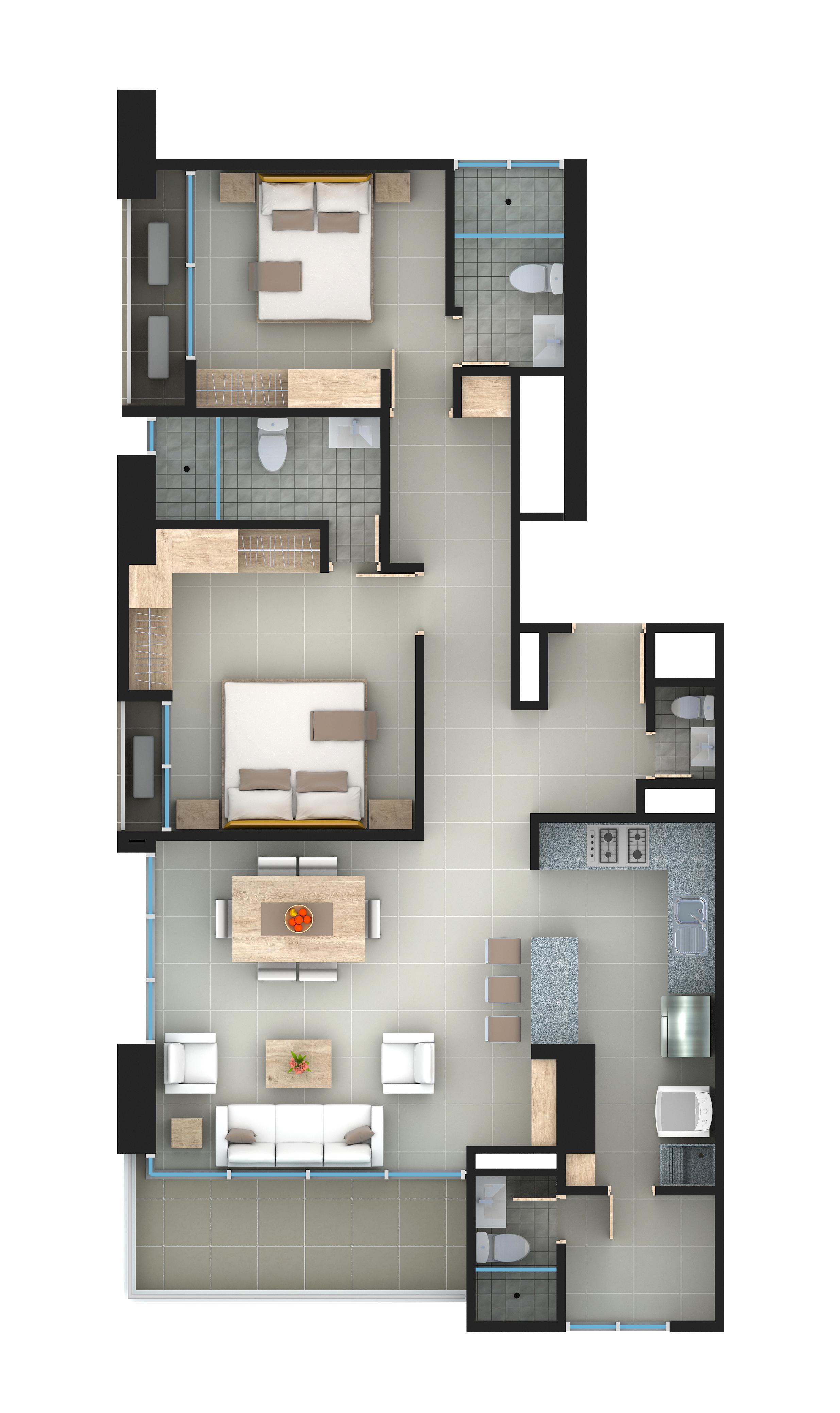 Apartamento 1701